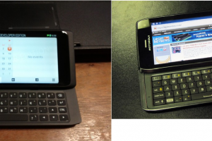 Did the Motorola Droid 4 Rip-off the N950s look?