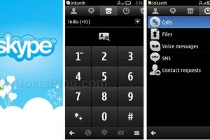 Screenshots (Skype for Nokia Belle) #Symbian (expected Q1 2012)