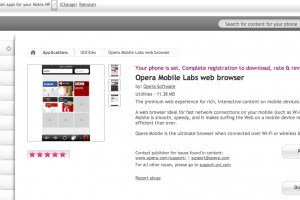 N9 Apps: Opera Mobile available for Nokia N9