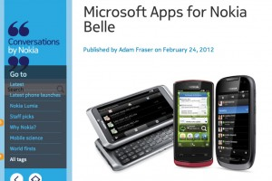 NokConv: Microsoft Apps update for Belle this week, even more in the coming months!