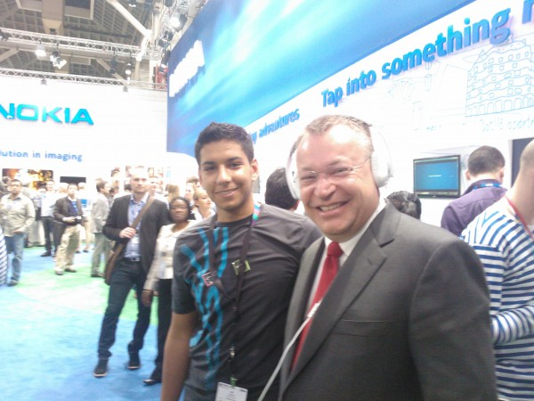Stephen Elop: Nokia Windows Phone 8 launching 'soon'.