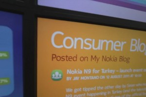 Video: Nokia&#8217;s Social Screens, a Command Centre View on Social Media with Agora