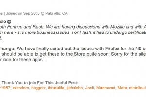 Adobe Flash with Fennec coming to Nokia N9?