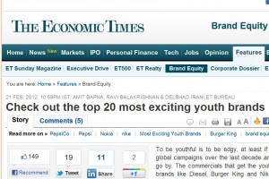 Nokia in top 20 of Most Exciting Youth Brands of India (Spoiler: Number 1)