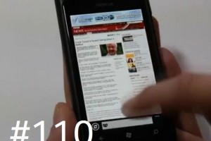 Lumiappaday #110: Incognito Browser demoed on the Nokia Lumia 800