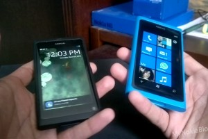 New Review Series: N9 Vs. Lumia 800  (Unboxing & Setting Up accounts) #MeegoVsWindows