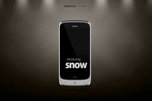 My Dream Nokia #45: Nokia Snow Concept Lumia Windows Phone