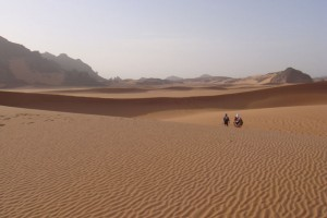 The World's First Solo Run Across the Sahara Desert tracked with Sports Tracker