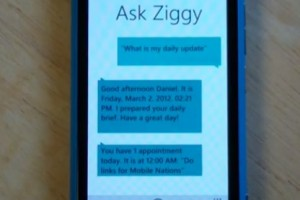 Video: Impressive update for Ask Ziggy (iPhone Siri for WP)