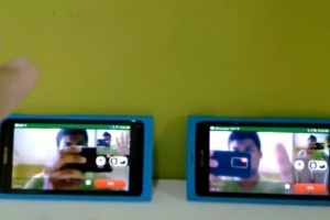 Video: Video calling on two Nokia N9s with Gtalk