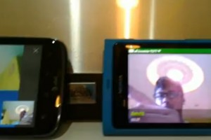 Video: Video Calling between Nokia N9 and Android handset