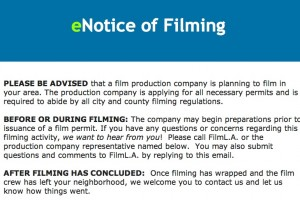 Nokia filming in down town Los Angeles this Wednesday!