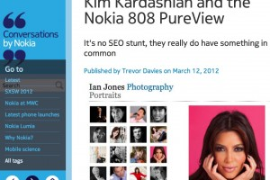 What does The Nokia 808 PureView have in common with Kim Kardashian? -NokConv