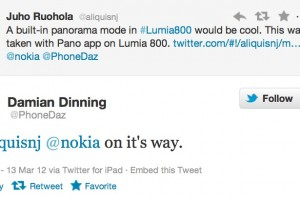 Mobile Hot spot, Panorama mode coming soon for Nokia Lumia (+more camera updates)?