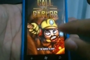 Lumiappaday #124: Call of Carlos on the Nokia Lumia 800 #XboxLive