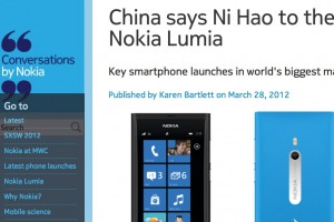 Nokia Lumia Officially Launched in China (800c, 610c)