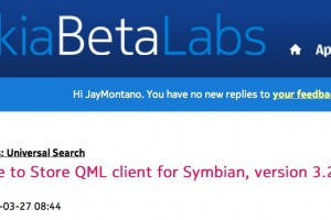 Update: Nokia Store QML client for Symbian, version 3.24.053