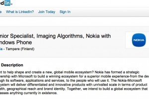 Nokia Advertising for Nokia Lumia PureView imaging Specialist: Next big thing related to imaging and camera for Nokia Windows Phones!