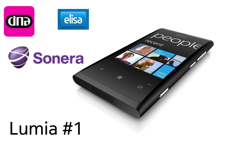 Nokia Lumia 800 Tops Finland Sales, #1 at DNA, Sonera and Elisa