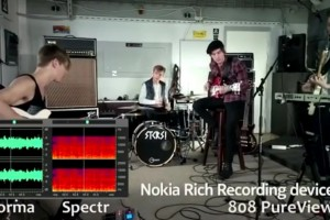 Video: Nokia Rich Recording, Nokia 808 vs SGS2 vs iPhone 4S, vs Canon EOS 550D vs Studio recording.