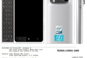 My Dream Nokia #47: Nokia Lumia 1000 PureView Slider concept