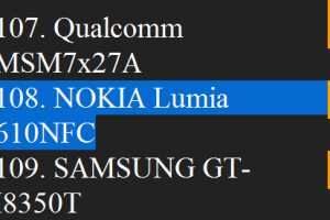 NFC for Nokia Lumia 610?
