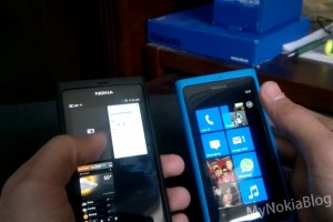 N9 Vs Lumia 800- Gestures/Swipe, Status Bar & Multi-Tasking #MeegoVsWindows