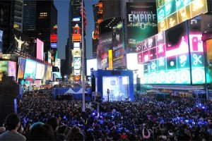 NIcki Minaj and Nokia Dominate Times Square