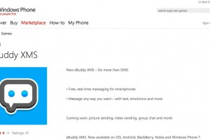 Ebuddy XMS for WP7 updated