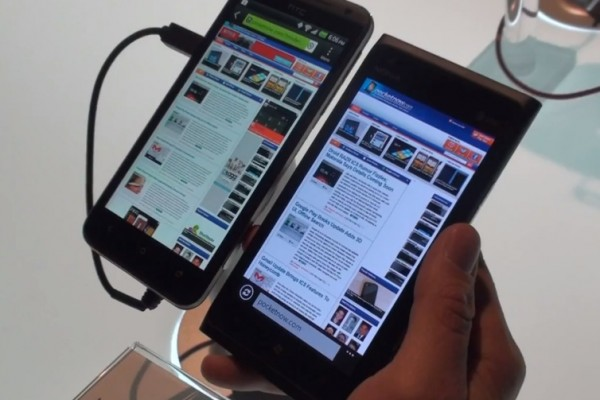Video: Nokia lumia 900 vs HTC Evo 4G&nbsp;LTE