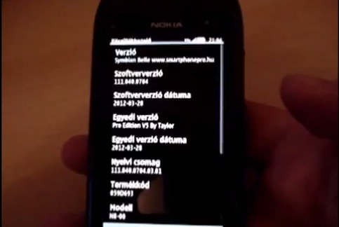 NOKIA N8 RC BELLE V111.040.0704 OFFICIAL EURO3 FIRMWARE LEAKED IN CFW? (VIDEO)