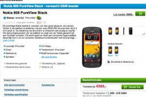 Nokia 808 PureView Pre-Order in Netherlands; Lumia 610 and 900 too