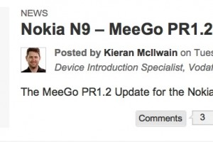 PR1.2 available for Nokia N9 on Vodafone Australia