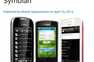 Nok Conv: Microsoft Office For Symbian, 100,000 apps confirmed for Nokia Store