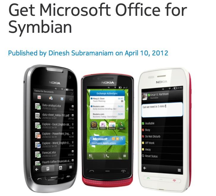 Nokia Symbian 9 3