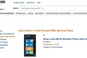 Nokia Lumia 900 out of stock at AT&T?