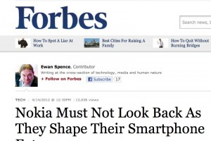 Forbes: Nokia must not look back – stick with WP, return to Symbian/MeeGo Suicidal?