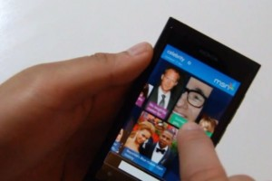 Lumiappaday #154: MSN Celebrity demoed on the Nokia Lumia 800