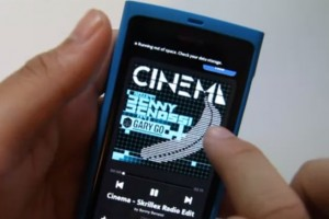 N9 Apps: Spotify demoed on the Nokia N9
