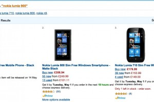 Nokia Lumia 900, Pre-Order at Amazon UK