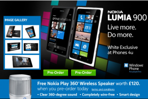 Pre-Order a Lumia 900 &amp; Get Play 360 Speakers FREE (Stormtrooper White available!!)