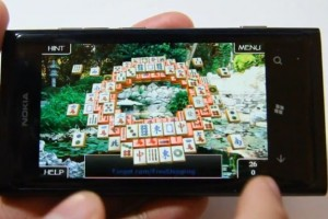 Lumiappaday #161: 3D Mahjong Solitaire demoed on the Nokia Lumia 800