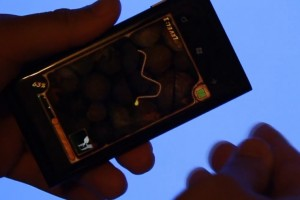 Lumiappaday #163: Burn the Rope demoed on the Nokia Lumia 800 #XboxLive