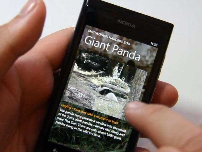 National Zoo is an app that will let you watch live webcams from the