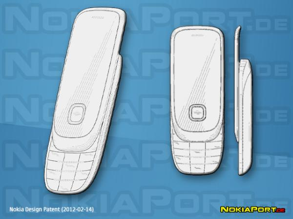 New S40 Slider? Another Touch and Type? (One more Nokia Handset DesignPatent)