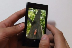 Lumiappaday #155: Squirrel demoed on the Nokia Lumia 800