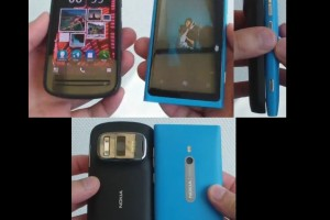 Weekend Watch: Nokia 808 vs Nokia Lumia 800 vs Nokia E7 (size) [Belle FP1 v112.020.0308.01.01)