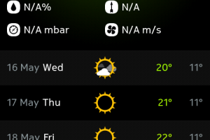 N9Apps: Meecast (Best Weather App EVER!)