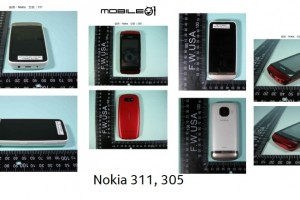 Leaked: Full touch S40 Nokia 311 and Nokia 305!