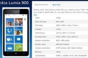 32GB Variant of White Nokia Lumia 900?